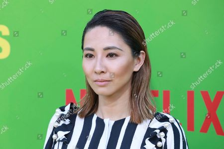 """Jing Lusi arrives at the premiere of """"Always Be My Maybe"""", at the Regency Village Theatre in Los Angeles"""