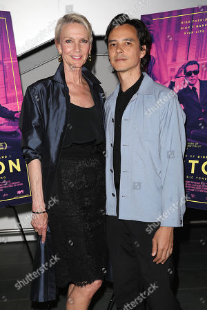 Stock Photo of Karen Bjornson and Frédéric Tcheng (Director)