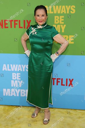 "Lucille Soong arrives at the premiere of ""Always Be My Maybe"", at the Regency Village Theatre in Los Angeles"