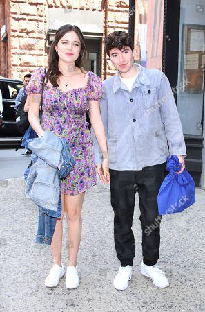 Molly Gordon and Noah Galvin