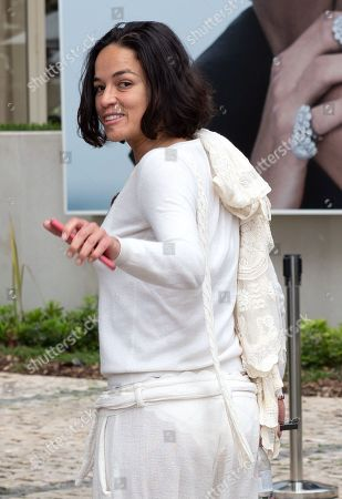 Michelle Rodriguez out and about, 72th Cannes Film Festival