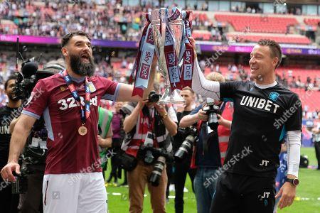 Aston Villa Mile Jedinak and John Terry