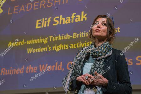 Elif Shafak (Human Rights activist, novelist).