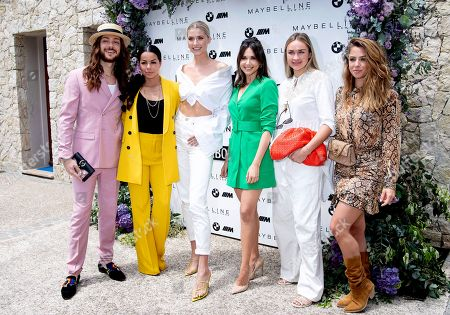 Stock Photo of Riccardo Simonetti, Fernanda Brandao, Lena Gercke, Mandy Grace Capristo, Nina Suess, Vanessa Mai