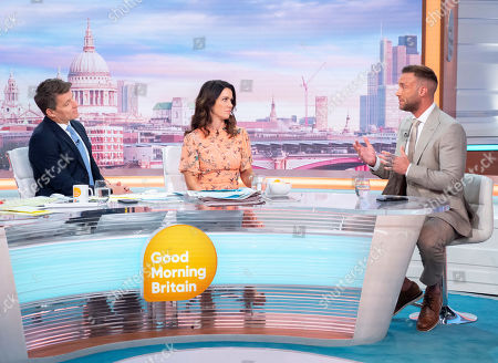 Editorial picture of 'Good Morning Britain' TV show, London, UK - 23 May 2019