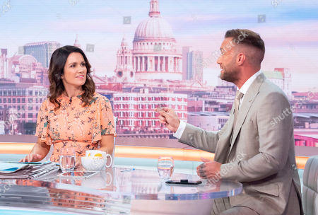 Susanna Reid with Calum Best