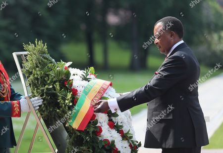 Congo President Denis Sassou Nguesso visits to Moscow