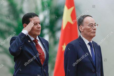 Brazil's Vice President Hamilton Mourao visit to China