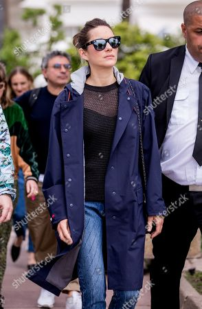 Marion Cotillard out and about, 72th Cannes Film Festival