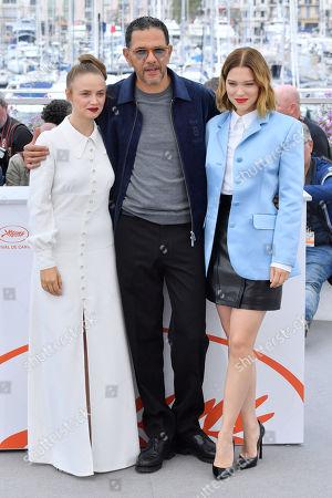Sara Forestier, Roschdy Zem and Lea Seydoux