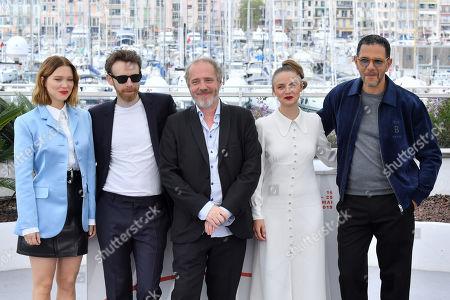 Lea Seydoux, Antoine Reinartz, Arnaud Desplechin, Sara Forestier and Roschdy Zem