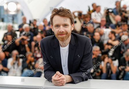 Antoine Reinartz poses during the photocall for 'Roubaix, une lumiere (Oh Mercy!)' at the 72nd annual Cannes Film Festival, in Cannes, France, 23 May 2019. The movie is presented in the Official Competition of the festival which runs from 14 to 25 May.