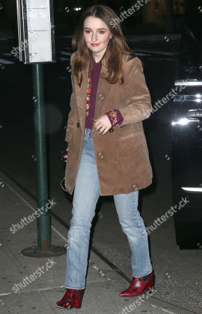 Kaitlyn Dever out and about, New York