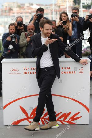 Actor Antoine Reinartz poses for photographers at the photo call for the film 'Oh Mercy' at the 72nd international film festival, Cannes, southern France