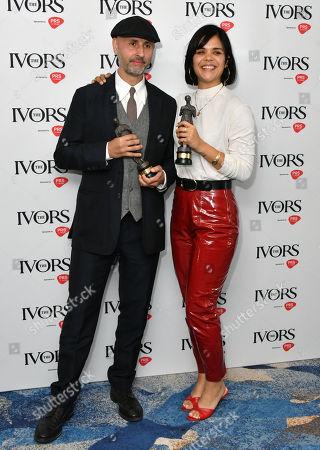 Stock Photo of Dominik Scherrer and Bat For Lashes - Natasha Khan, Best Television Soundtrack