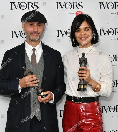 Stock Picture of Dominik Scherrer and Bat For Lashes - Natasha Khan, Best Television Soundtrack