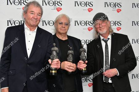 Editorial photo of The Ivors, London, UK - 23 May 2019