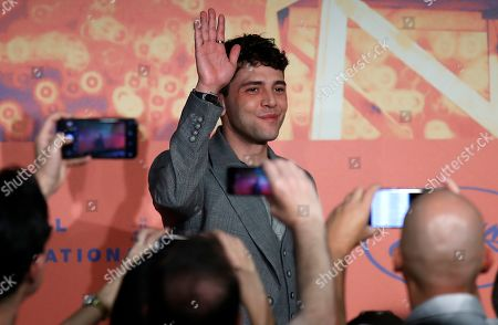 Xavier Dolan attends the press conference for 'Matthias Et Maxime' during the 72nd annual Cannes Film Festival, in Cannes, France, 23 May 2019. The movie is presented in the Official Competition of the festival which runs from 14 to 25 May.