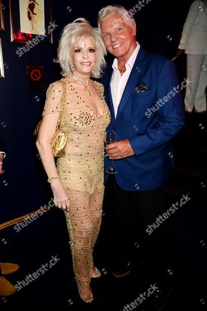 Stock Image of Lisa Voice and Jess Conrad