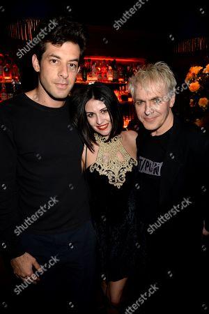 Mark Ronson, Nefer Suvio and Nick Rhodes