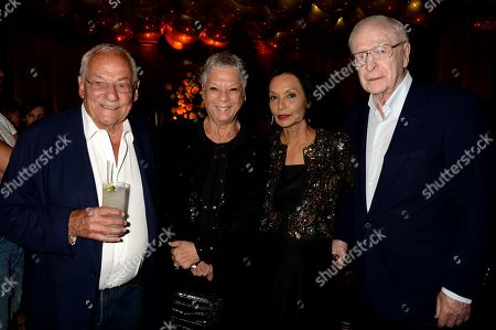 Johnny Gold, Jan Gold, Shakira Caine and Sir Michael Caine