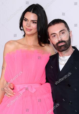 Kendall Jenner and Giambatista Valli