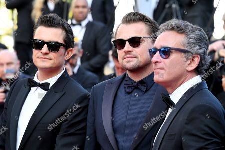 Orlando Bloom, Leonardo DiCaprio and Alejandro Agag