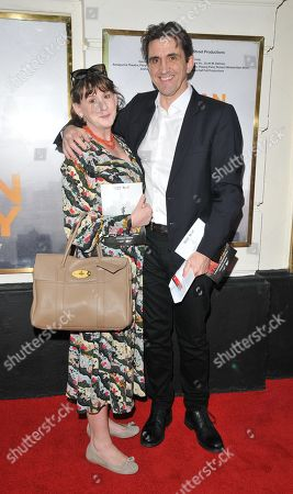Stock Picture of Heidi Thomas and Stephen McGann