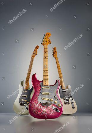 A Trio Of Fender Custom Shop Eu Master Design Electric Guitars Including (L A '56 Stratocaster '69 Stratocaster And A '53 Telecaster