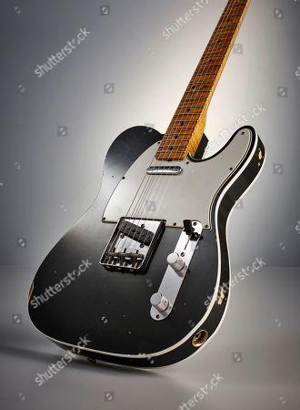 A Fender Custom Shop Eu Master Design '67 Telecaster Electric Guitar
