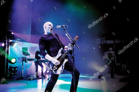 London United Kingdom - March 17: Guitarist And Vocalist Devin Townsend Of Progressive Metal Group Devin Townsend Project Performing Live On Stage At The Hammersmith Apollo In London On March 17
