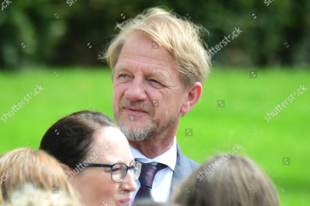 German director Soenke Wortmann attends a garden party at Bellevue Pallace on the occasion of the 70th anniversary of the German constitution (Grundgesetz) in Berlin, Germany, 23 May 2019. The German constituion (Grundgesetz) was announced on 23 May 1949.