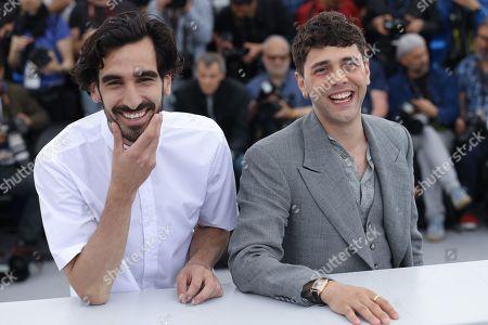 Stock Picture of Gabriel D'Almeida Freitas and Xavier Dolan