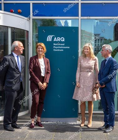 Queen Maxima visit to ARQ National Psychotrauma Center, Diemen