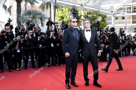 Leonardo DiCaprio (L) and Alejandro Agag arrive for the screening of 'Il traditore' (The Traitor) during the 72nd annual Cannes Film Festival, in Cannes, France, 23 May 2019. The movie is presented in the Official Competition of the festival which runs from 14 to 25 May.