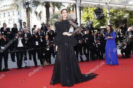 Ana Beatriz Barros arrives for the screening of 'Il traditore' (The Traitor) during the 72nd annual Cannes Film Festival, in Cannes, France, 23 May 2019. The movie is presented in the Official Competition of the festival which runs from 14 to 25 May.