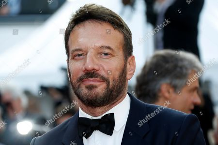 Samuel Le Bihan arrives for the screening of 'Il traditore' (The Traitor) during the 72nd annual Cannes Film Festival, in Cannes, France, 23 May 2019. The movie is presented in the Official Competition of the festival which runs from 14 to 25 May.