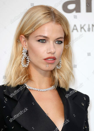 Hailey Clauson attends the Cinema Against AIDS amfAR gala 2019 held at the Hotel du Cap, Eden Roc in Cap d'Antibes, France, 23 May 2019, within the scope of the 72nd annual Cannes Film Festival that runs from 14 to 25 May.