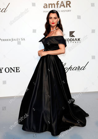Stock Picture of Catrinel Marlon attends the Cinema Against AIDS amfAR gala 2019 held at the Hotel du Cap, Eden Roc in Cap d'Antibes, France, 23 May 2019, within the scope of the 72nd annual Cannes Film Festival that runs from 14 to 25 May.