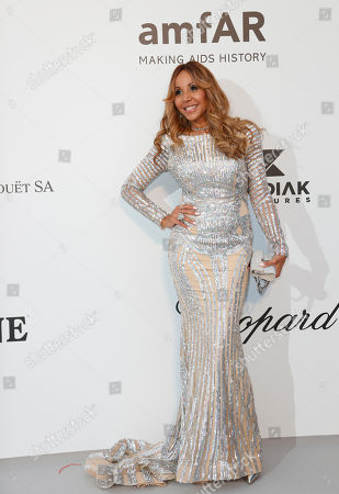 Stock Photo of Cathy Guetta attends the Cinema Against AIDS amfAR gala 2019 held at the Hotel du Cap, Eden Roc in Cap d'Antibes, France, 23 May 2019, within the scope of the 72nd annual Cannes Film Festival that runs from 14 to 25 May.