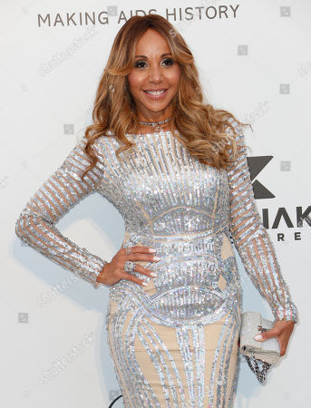 Stock Image of Cathy Guetta attends the Cinema Against AIDS amfAR gala 2019 held at the Hotel du Cap, Eden Roc in Cap d'Antibes, France, 23 May 2019, within the scope of the 72nd annual Cannes Film Festival that runs from 14 to 25 May.