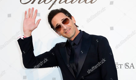 Adrien Brody attends the Cinema Against AIDS amfAR gala 2019 held at the Hotel du Cap, Eden Roc in Cap d'Antibes, France, 23 May 2019, within the scope of the 72nd annual Cannes Film Festival that runs from 14 to 25 May.