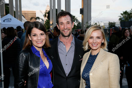 Suzanne Cryer, Noah Wyle and Sara Wells