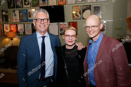 Michael Ritchie, Dianne Wiest and James Bundy