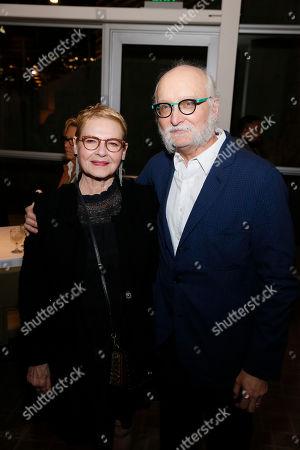 Dianne Wiest and Michael Rudko
