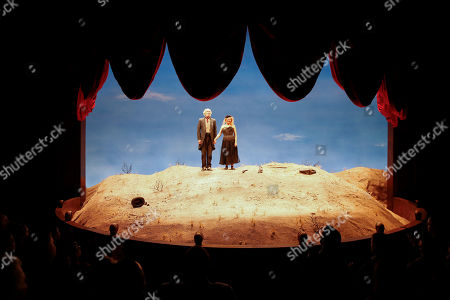 Stock Photo of Michael Rudko and Dianne Wiest