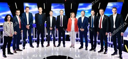 Editorial picture of European Elections, La Plaine-Saint-Denis, France - 23 May 2019