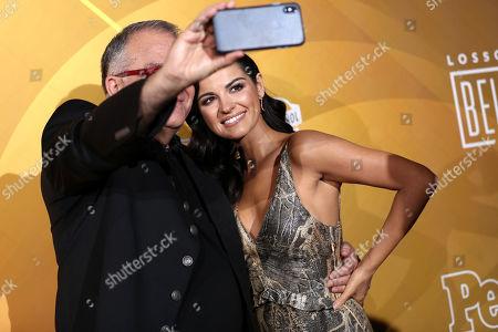 Armando Correa and Maite Perroni