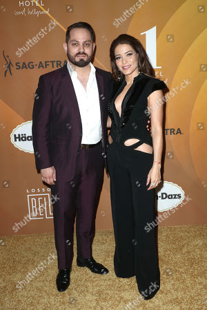 Stock Photo of Jorge Gaxiola and Adriana Fonseca