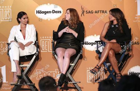 Roselyn Sanchez, Rachel Miller and Lisa Vidal